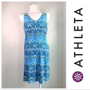 Athleta NWT sleeveless Santorini summer dress